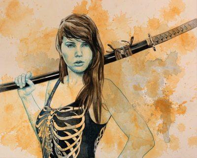 The Black Blade by  Lou Pimentel